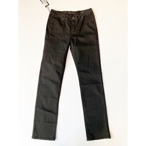 ⭐️Buffalo David Bitton Black Straight Leg Jeans 4